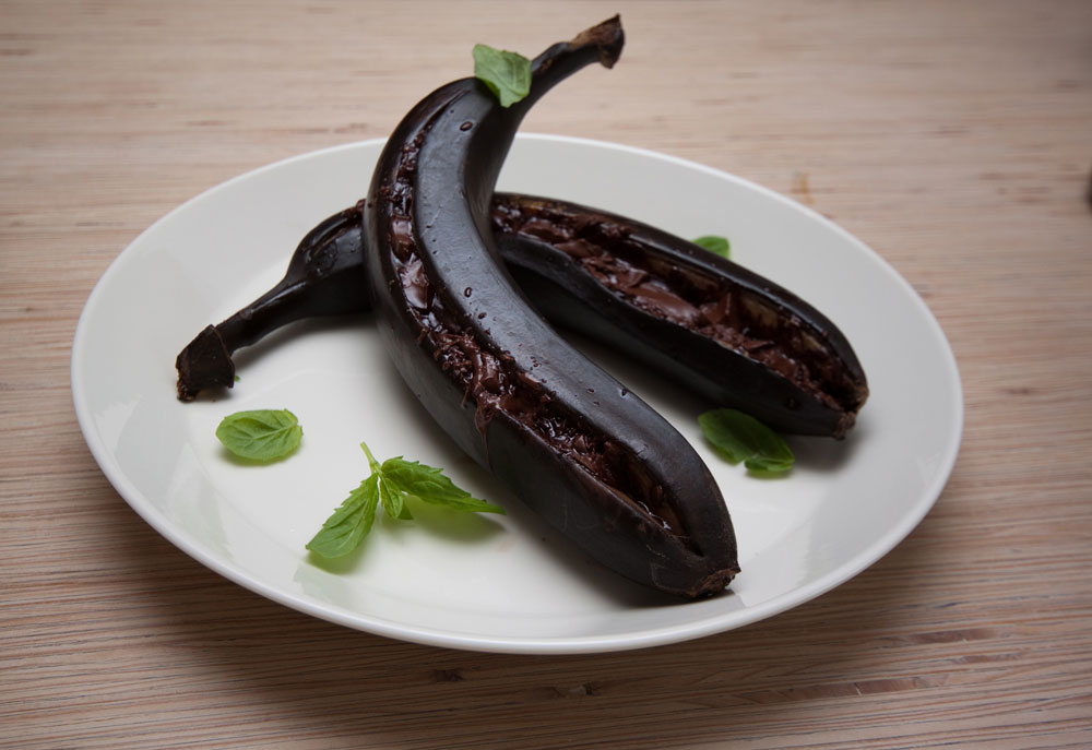 Grillattu Banaani